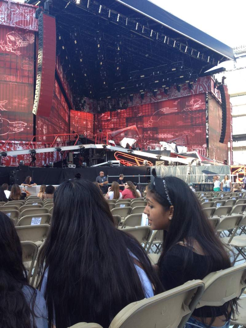 Seating view for MetLife Stadium Section 5 Row 12 Seat 20