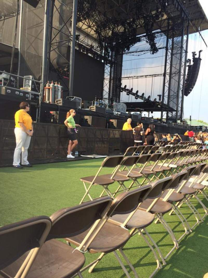 Seating view for Hershey Park Stadium Section C Row 4 Seat 20