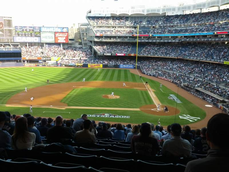 Seating view for Yankee Stadium Section 223 Row 20 Seat 13