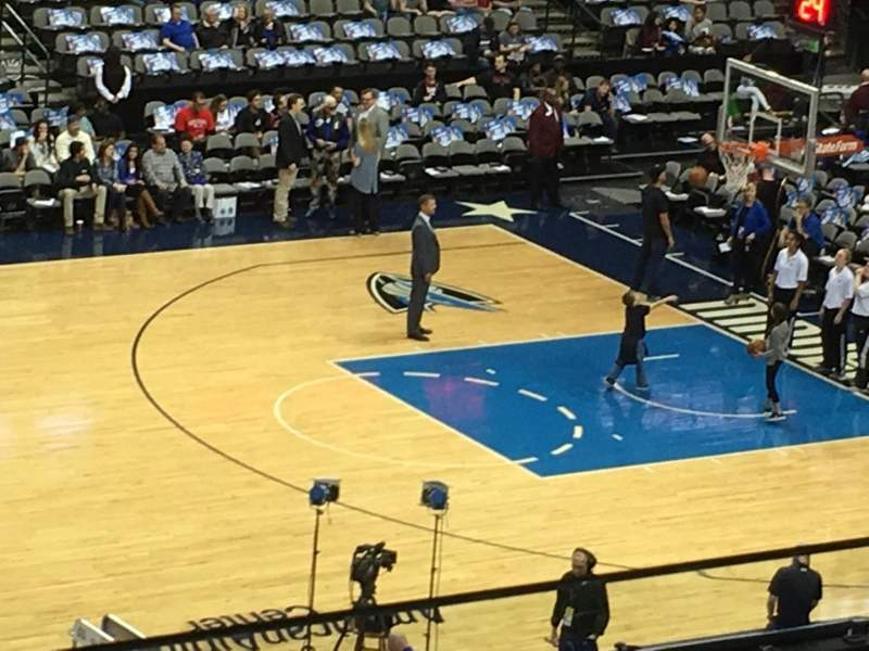 Seating view for American Airlines Center Section 219 Row B Seat 5