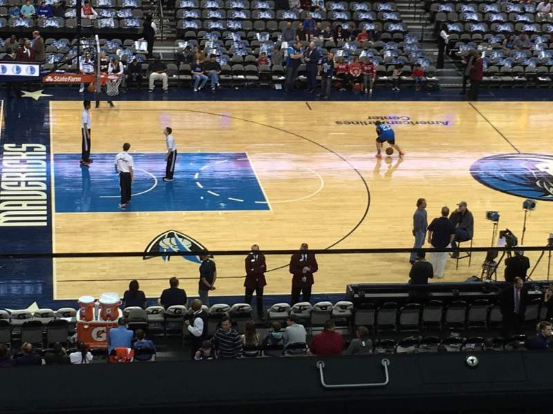 American Airlines Center, section: 219, row: B, seat: 7