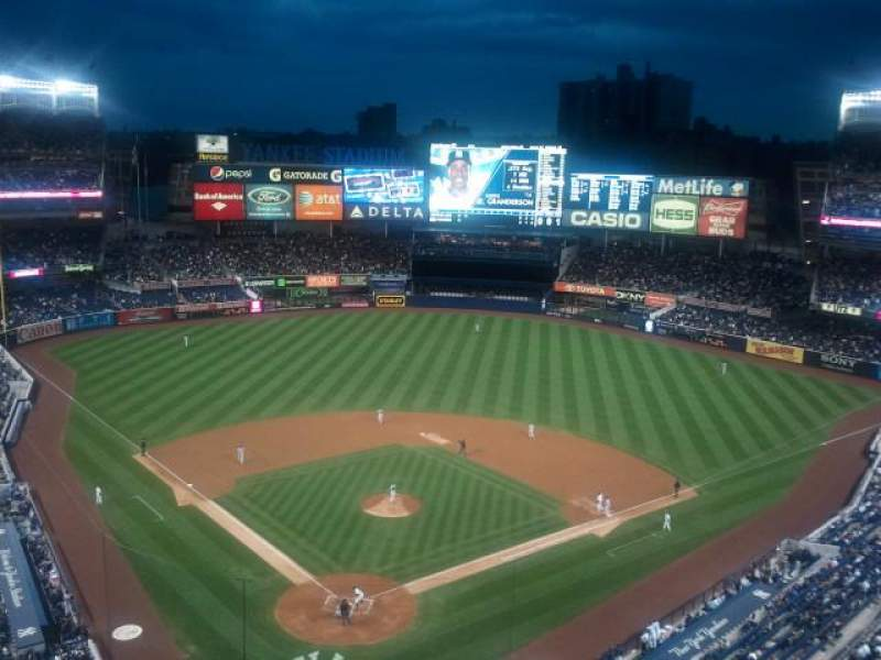 Seating view for Yankee Stadium Section 420a Row 2 Seat 14