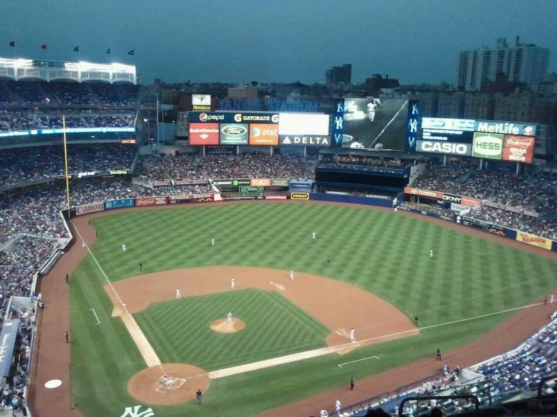 Seating view for Yankee Stadium Section 419 Row 10 Seat 10