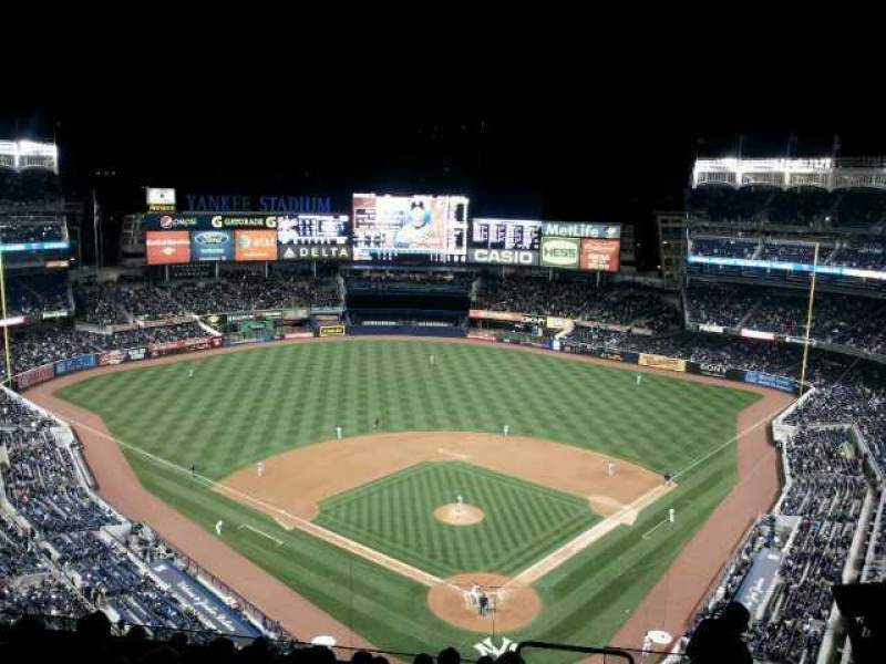 Seating view for Yankee Stadium Section 420c Row 10 Seat 5