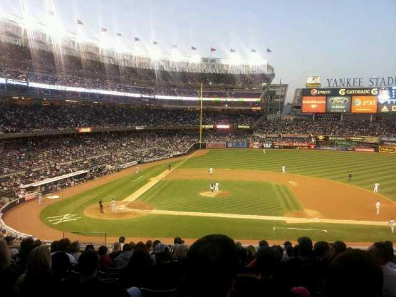 Seating view for Yankee Stadium Section 216 Row 13 Seat 14