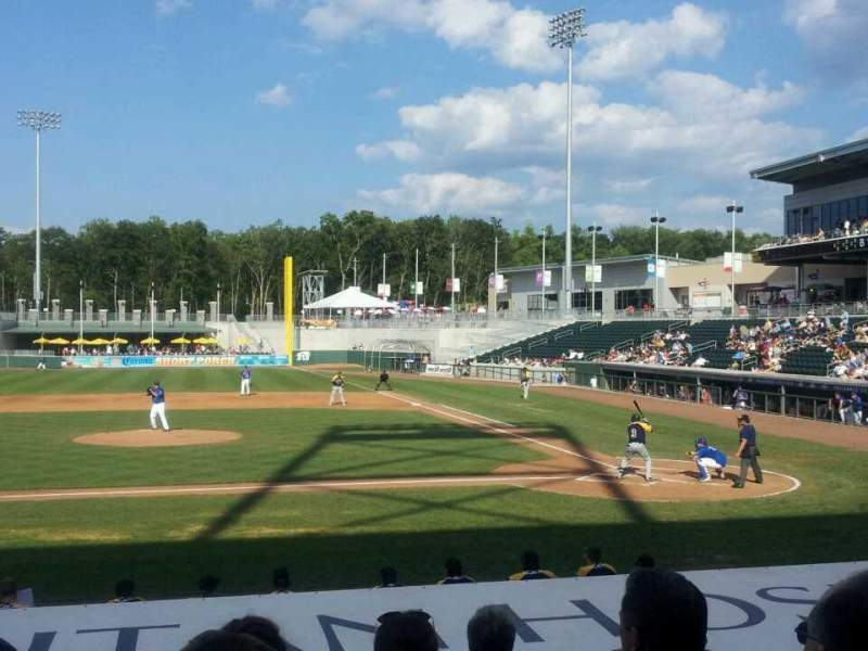 Seating view for Palisades Credit Union Park Section 112 Row M Seat 11