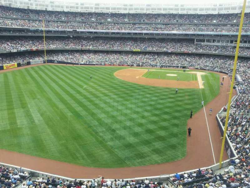 Seating view for Yankee Stadium Section Audi Yankees Club Row 1 Seat 2