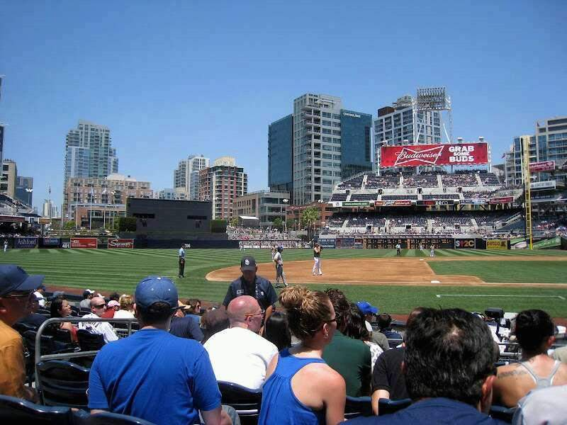 Seating view for PETCO Park Section 110 Row D Seat 10