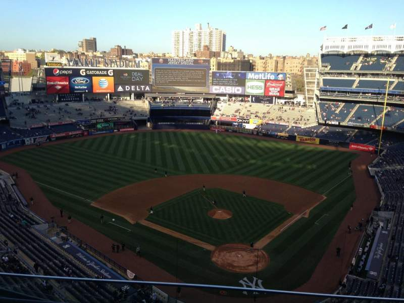 Seating view for Yankee Stadium Section 420c Row 3 Seat 11