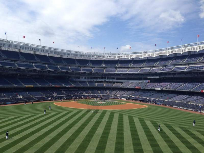 Seating view for Yankee Stadium Section BES3 Row 2 Seat 10