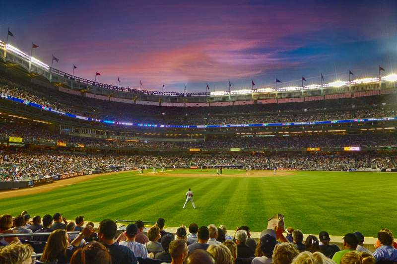 Seating view for Yankee Stadium Section 104 Row 18 Seat 20