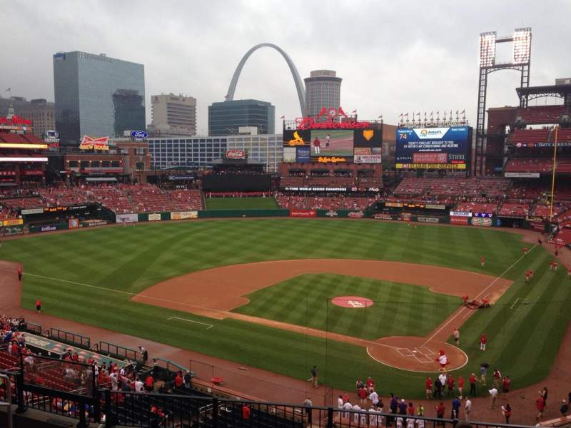 Seating view for Busch Stadium Section 252 Row 7 Seat 11