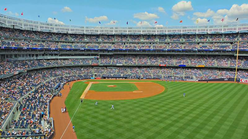 Seating view for Yankee Stadium Section Party City Suite Row C Seat 4