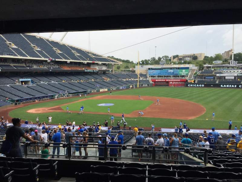 Seating view for Kauffman Stadium Section 237 Row PP Seat 3