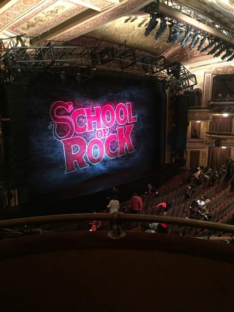 Seating view for Winter Garden Theatre Section L Mezz Row B Seat 5