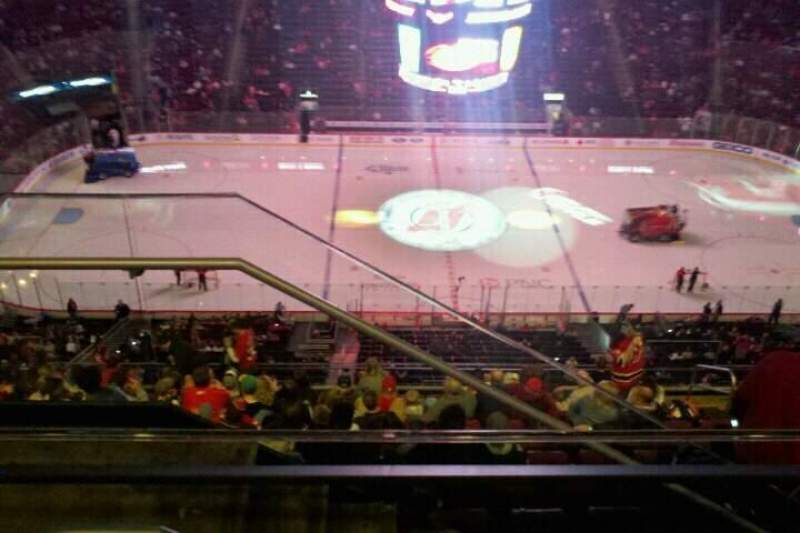 Seating view for Prudential Center Section 229 Row 3 Seat 23