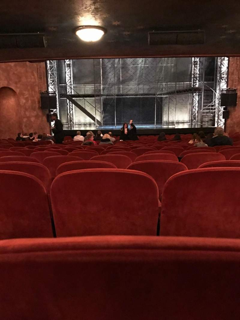 Seating view for August Wilson Theatre Section ORC Row W Seat 112