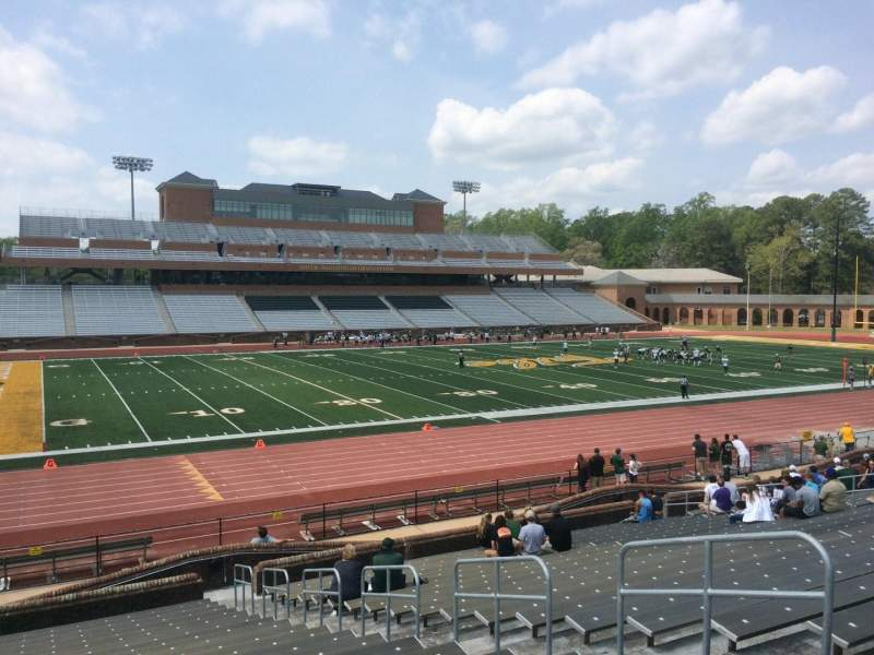 Seating view for Zable Stadium Section 112 Row U Seat 07