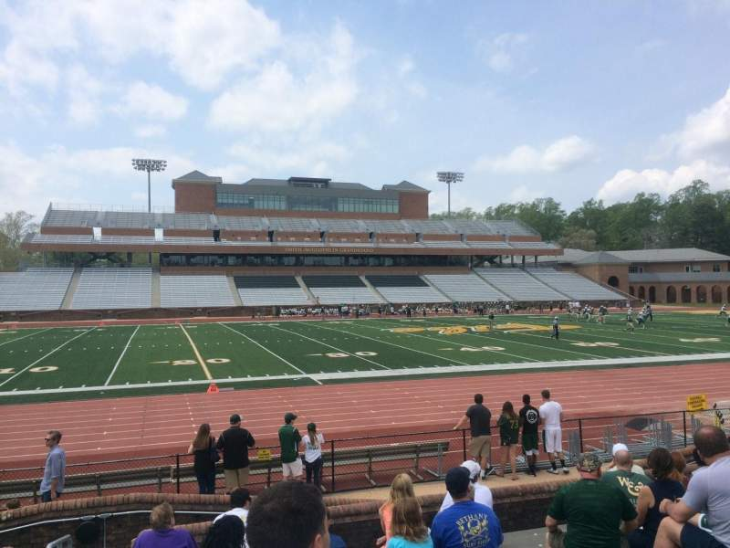 Seating view for Zable Stadium Section 114 Row J Seat 25