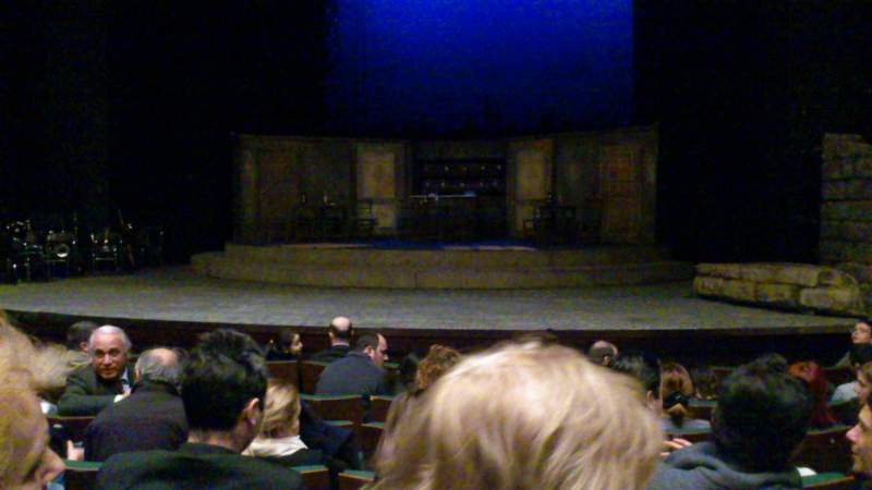 Seating view for Cuneyt Gokcer Sahnesi Section Salon Row G Seat 12