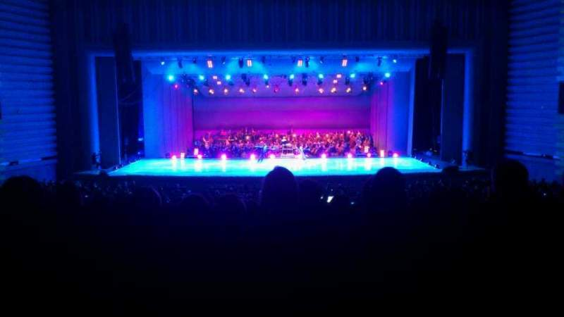 Seating view for ATO Congresium Konser Salonu Ankara Section M Blok Row 1 Seat 32