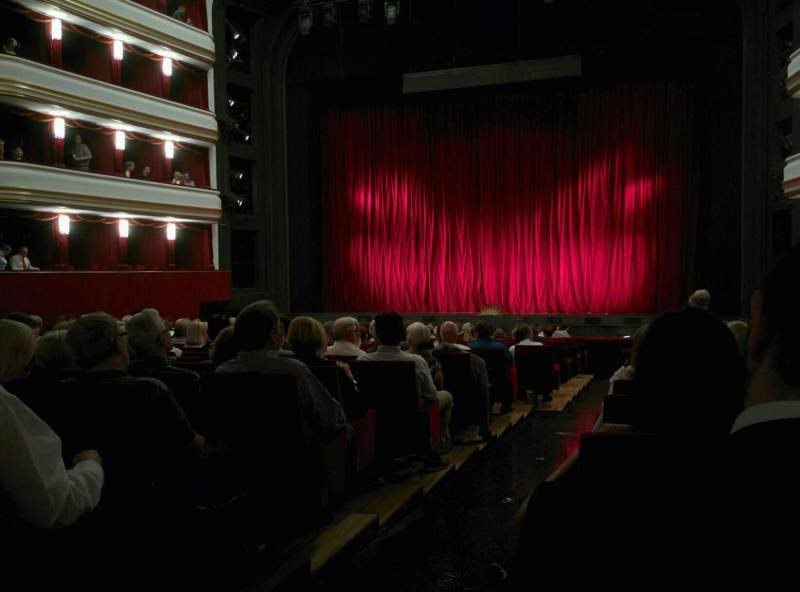 Seating view for Volksoper Wien Section Parkett Rechts Row 19 Seat 8