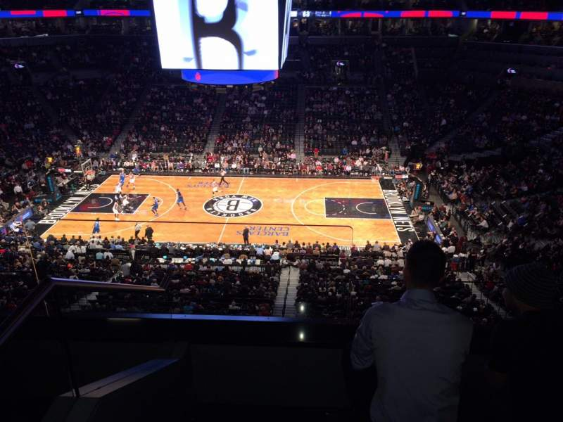 Seating view for Barclays Center Section Suite B6