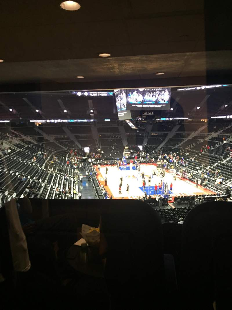 Seating view for The Palace of Auburn Hills