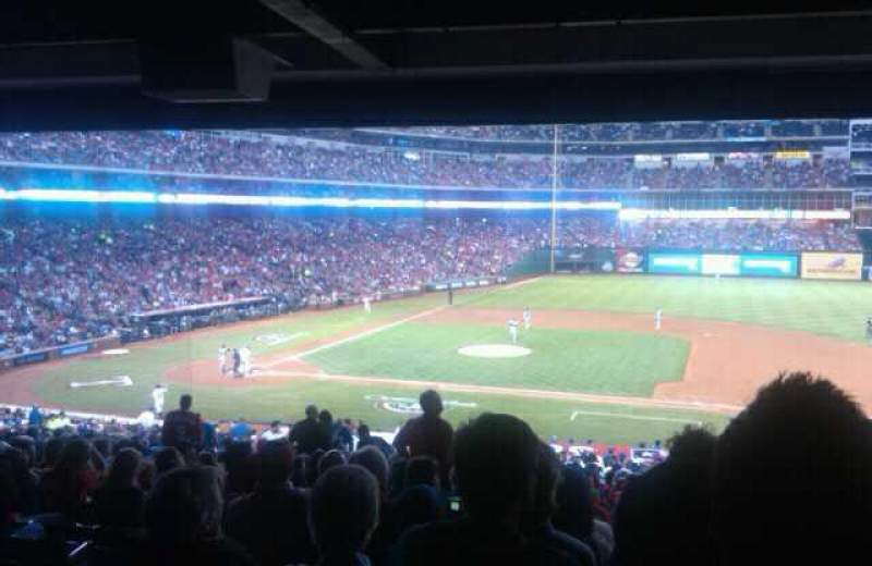Seating view for Globe Life Park in Arlington Section 24 Row 16 Seat 01