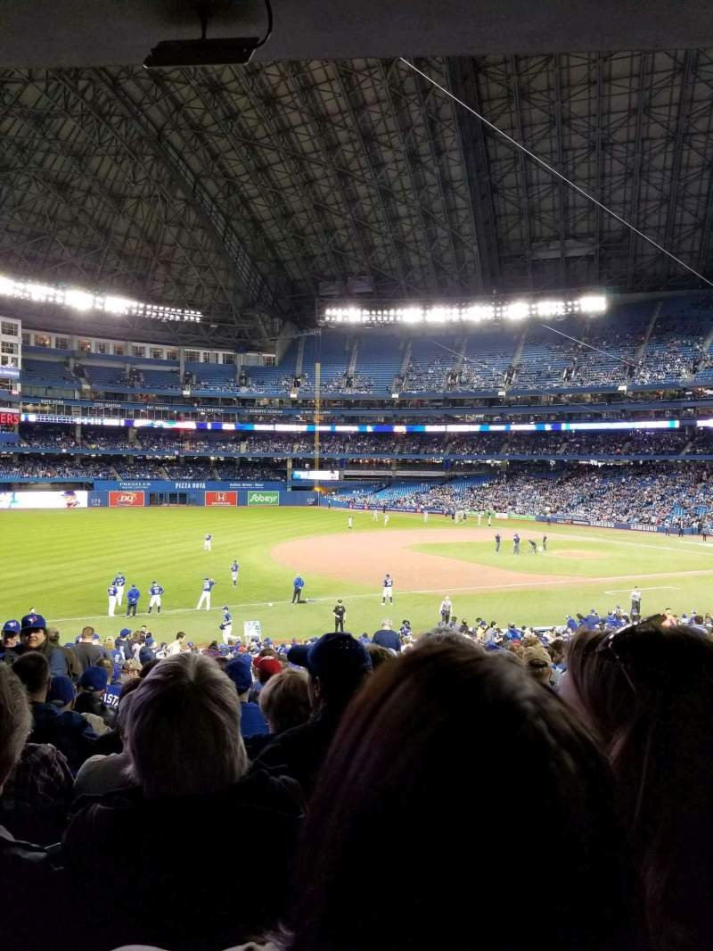 Rogers Centre, section: 129L, row: 37, seat: 101