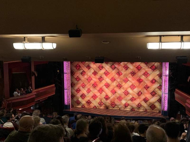 Seating view for Adelphi Theatre Section Dress Circle Row O Seat 15