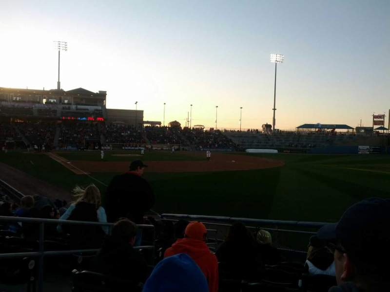 Seating view for Coca-Cola Park Section 101 Row T Seat 4