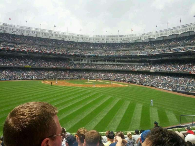 Seating view for Yankee Stadium Section 238 Row 14 Seat 11