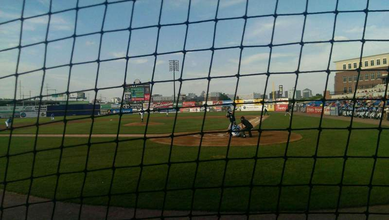 Seating view for Frawley Stadium Section 17 Row 1 Seat 1
