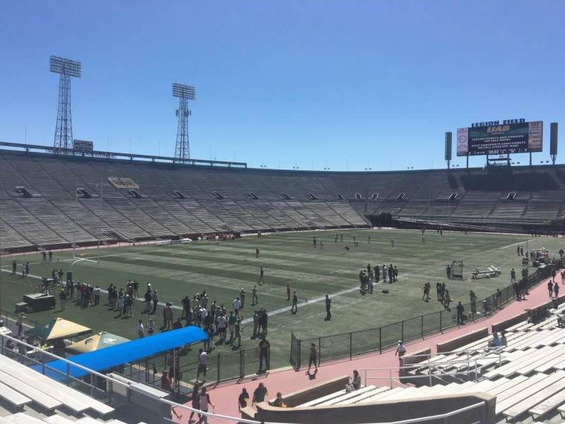 Seating view for Legion Field Section 16 Row 28 Seat 23