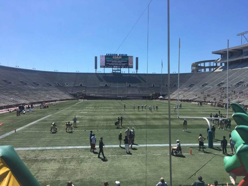 Seating view for Legion Field Section 24 Row 17 Seat 15