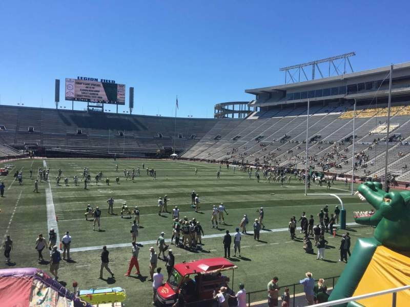 Seating view for Legion Field Section 26 Row 24 Seat 11