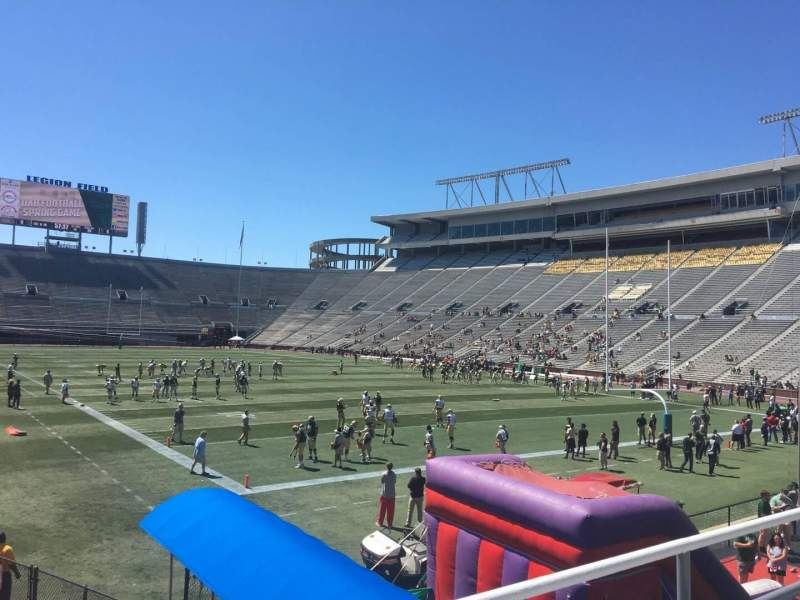Seating view for Legion Field Section 27 Row 6 Seat 8