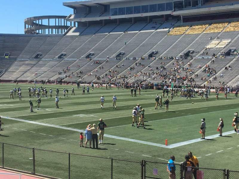 Seating view for Legion Field Section 30 Row 15 Seat 8