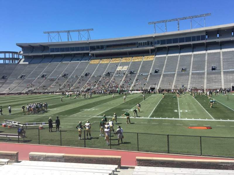 Seating view for Legion Field Section 33 Row 17 Seat 12