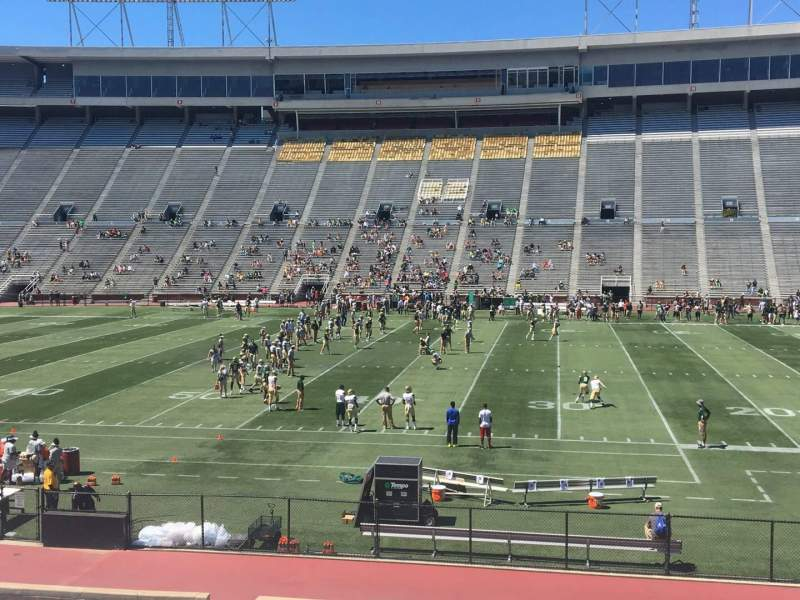 Seating view for Legion Field Section 34 Row 26 Seat 18