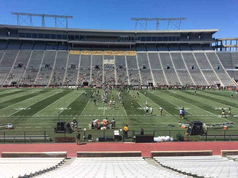 Seating view for Legion Field Section 35 Row 28 Seat 23