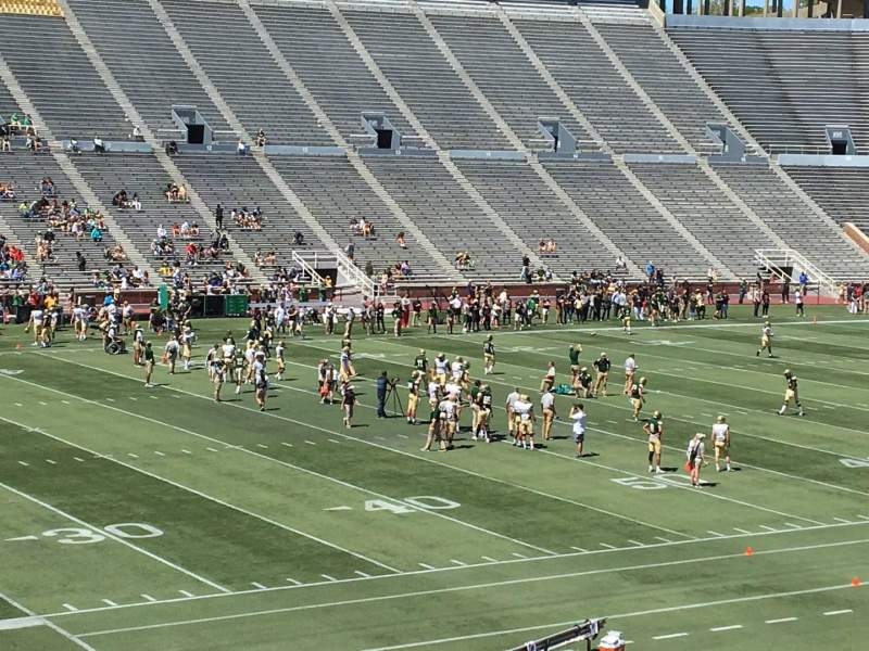 Seating view for Legion Field Section 38 Row 31 Seat 8