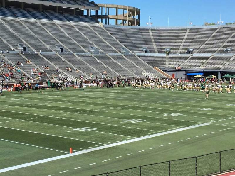 Seating view for Legion Field Section 40 Row 23 Seat 18