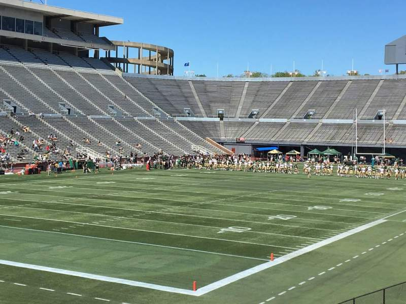 Seating view for Legion Field Section 42 Row 22 Seat 6