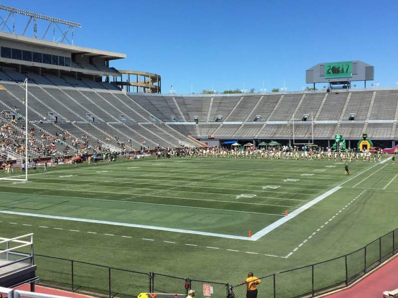 Seating view for Legion Field Section 43 Row 23 Seat 6