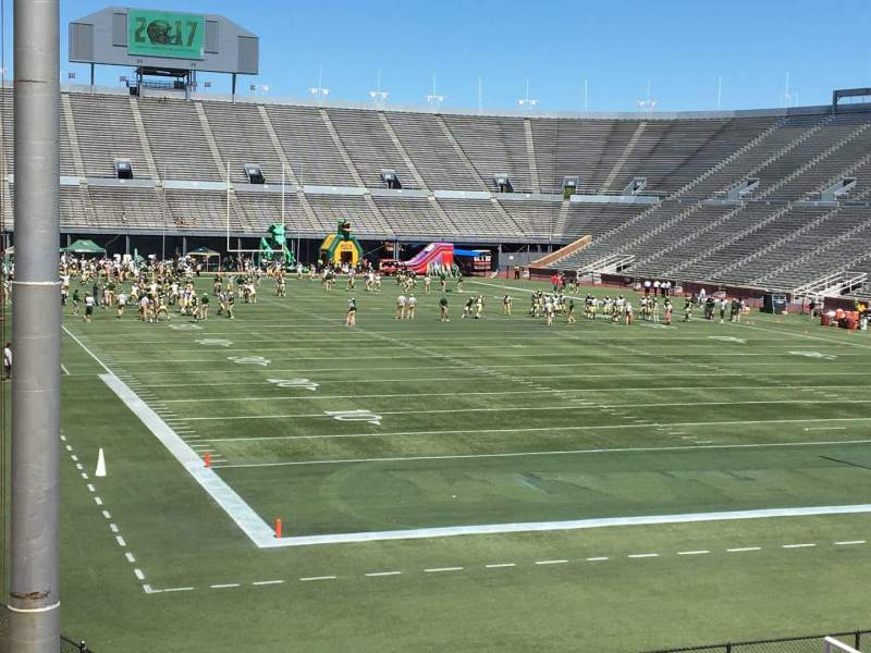 Seating view for Legion Field Section 2 Row 25 Seat 33