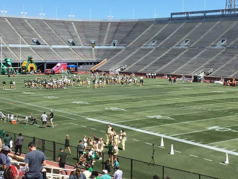 Seating view for Legion Field Section 6 Row 25 Seat 16