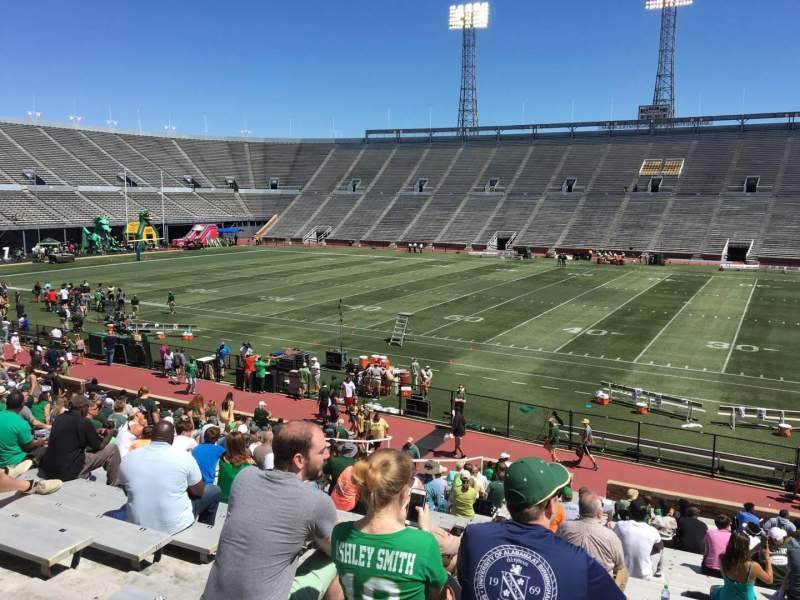 Seating view for Legion Field Section 9 Row 29 Seat 25