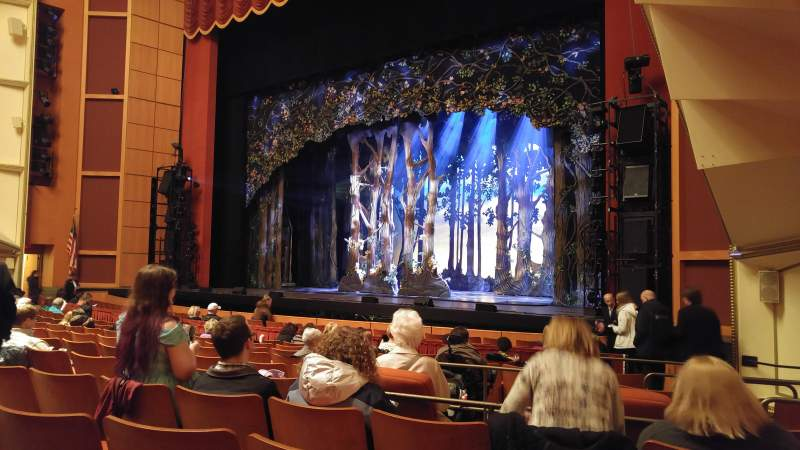 Seating view for Uihlein Hall Section Orchestra Row K Seat 52